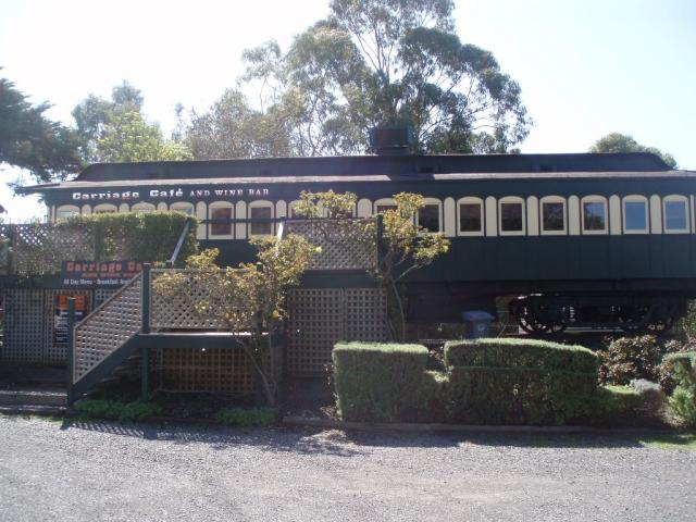The originally named Carriage Cafe