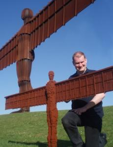 Me with Angel of the North